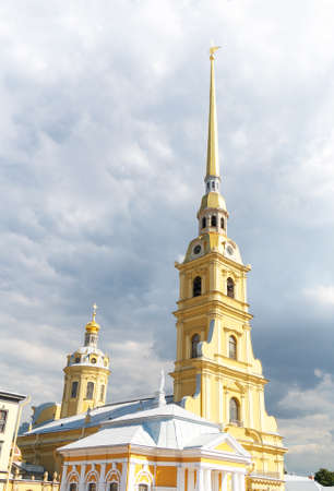 Saints Peter and Paul Cathedral in Saint Petersburg.