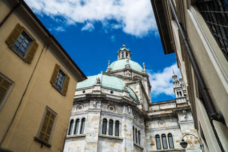 Roman Catholic cathedral of the city of Como, Italy.