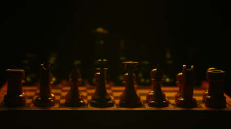 Chess before the start of the game. Suitable for commercials. Фото со стока