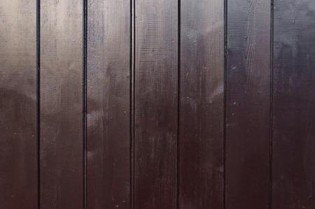 Wenge fence Stock Photo