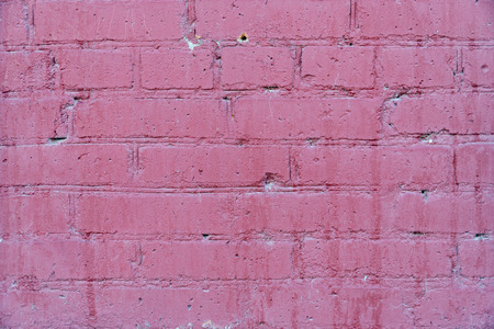 The texture of the old brickwork of red brick Stock Photo