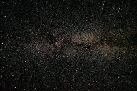 Milky way in the night summer sky Banco de Imagens