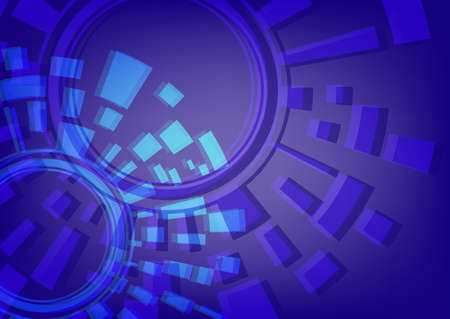 Abstract a techno a background Illustration