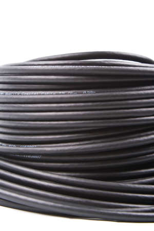 Black coaxial cable  photo