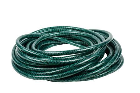 plastic conduit: garden hose
