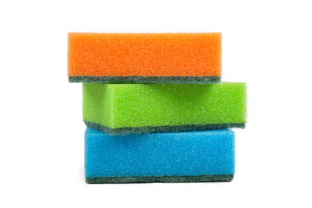 Sponge for ware washing Stock Photo