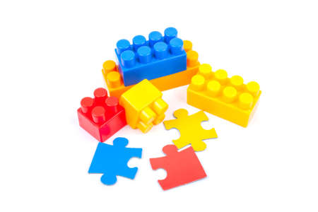 cubes and puzzles photo