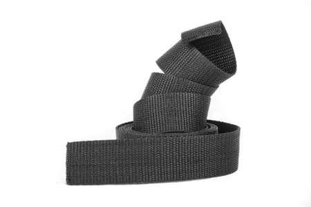 black nylon strap Stock Photo