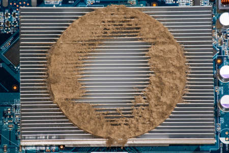 Dirty dusty computer
