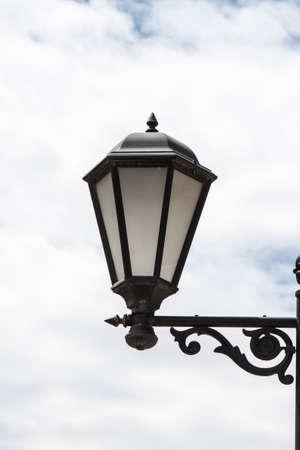 Lantern streetlights Stock Photo