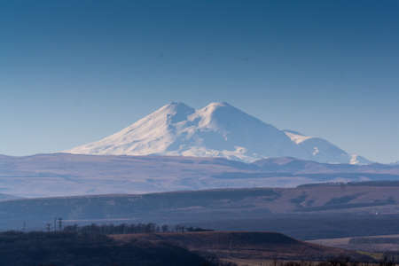 Mount Elbrus, the highest peak in North Caucasus