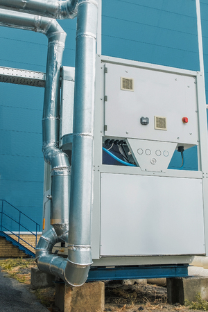 Cooling unit, chiller, commercial, industrial ventilation, air conditioning