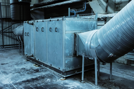 air handling unit, industrial ventilation, air conditioner, commercial, insulation, pipeline