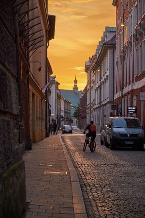 Krakow, travel, tourism, summer, evening, free tour