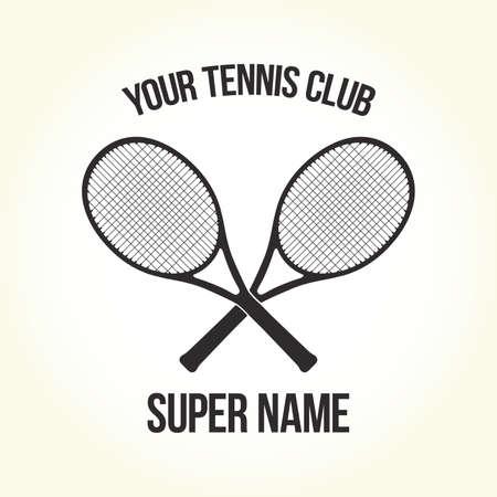 fitness equipment: Tennis club logo