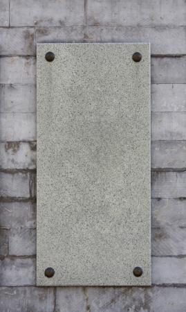 大理石メモリアル ボード