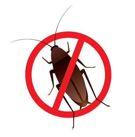 許可ないゴキブリ