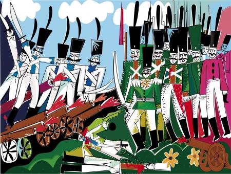 War of 1812 Stock Vector - 13763929