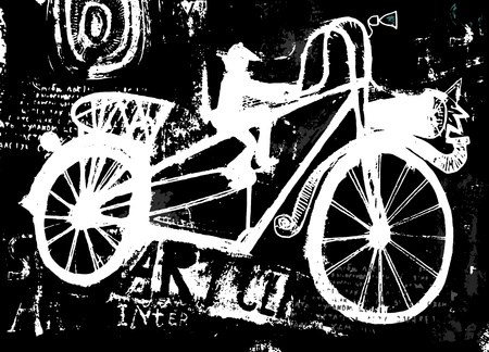 The symbolic image of a bicycle