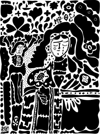 depiction: Depiction of the Crucifixion of Jesus Christ Illustration