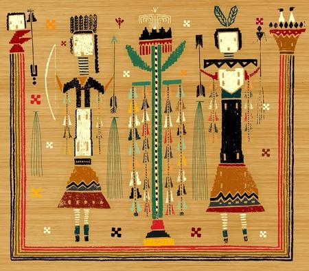 La imagen simbólica de los aborígenes