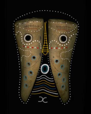 african mask: Image of wooden masks