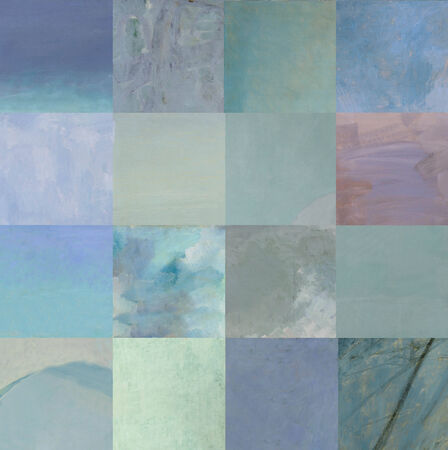 Blue squares  photo