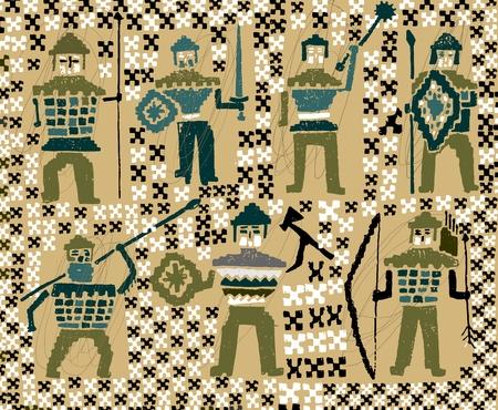 Vikings soldiers