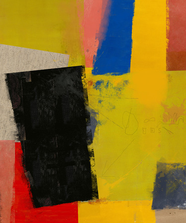 plurality: Abstract composition which consists of a plurality of colored layers  Stock Photo