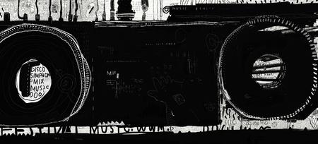 regulators: Symbolic image mixer for vinyl records