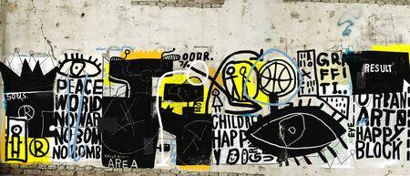 Wall that is plastered Zdjęcie Seryjne