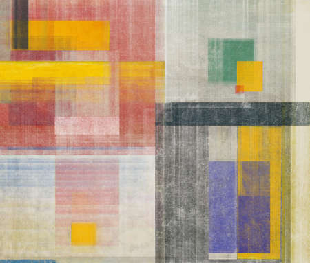 Abstraction, which consists of many color spots