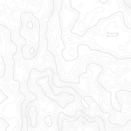 Topographische Karte Hintergrund Konzept mit Platz für Ihre Kopie. Vektorgrafik