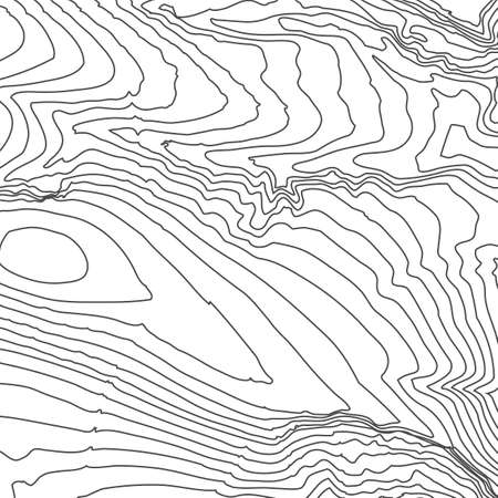 hiking trail: Topographic map background concept with space for your copy. Topography lines art contour , mountain hiking trail , Shape design. Computer generated . Illustration