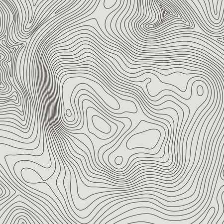 귀하의 복사본에 대 한 공간을 가진 지형지도 배경 개념입니다. 지형 라인 윤곽, 산 하이킹 트레일, 모양 디자인 예술. 컴퓨터 생성. 일러스트