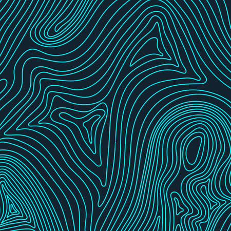 topografia: Mapa topográfico del concepto del fondo con el espacio para su copia. líneas de topografía arte contorno, ruta de senderismo de montaña, diseño de la forma. generado por ordenador. Vectores
