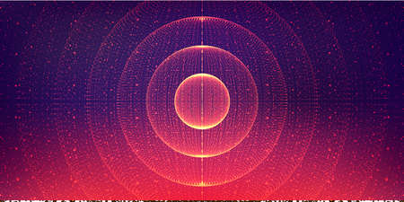 interstellar space background.Cosmic galaxy illustration.Background with nebula, stardust and bright shining stars.