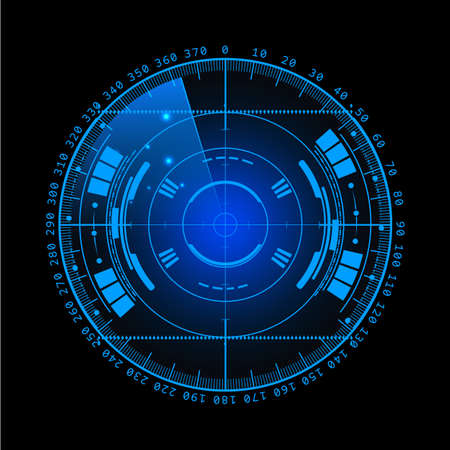 screen: Radar screen.