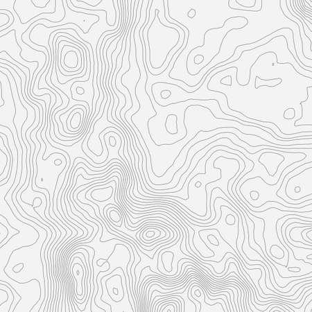 Carte topographique fond, concept, avec un espace pour votre copie. Vecteurs