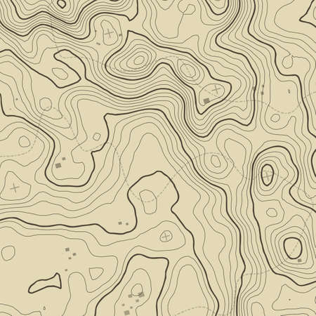 topographic: Topographic map background concept with space for your copy. Topography lines art contour , mountain hiking trail , Shape  design.