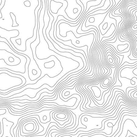topografia: Mapa topográfico del concepto del fondo con el espacio para su copia. líneas de topografía arte contorno, ruta de senderismo de montaña, diseño de la forma.