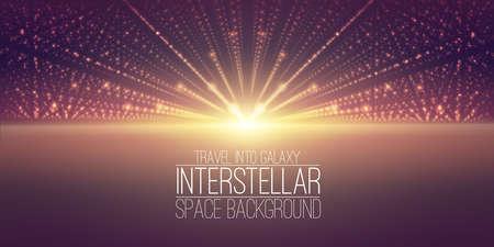 tiefe: background.Cosmic Galaxie der interstellare Raum illustration.Background mit Nebel, stardust und hell leuchtenden Sternen. Illustration für die Partei, Kunstwerk, Broschüren.