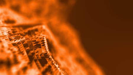 fire orange abstact background . Underwater concept background