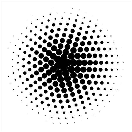 granule: Vector retro style dotwork background. Abstract dotted stippling engraving texture