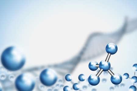 cromosoma: Fondo abstracto . Molécula de ADN con X