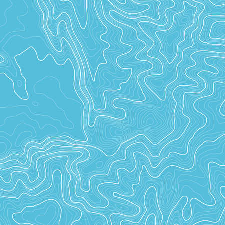 Topographic map background with space for copy . Line topography map contour background , geographic grid abstract vector illustration . Mountain hiking trail over terrain