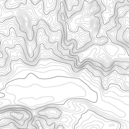 지형도 작성 점 복사본에 대 한 공간을 가진 배경입니다. 라인 지형지도 등고선 배경, 지리적 그리드 추상적 인 벡터 일러스트 레이 션. 지형을 넘어선  일러스트