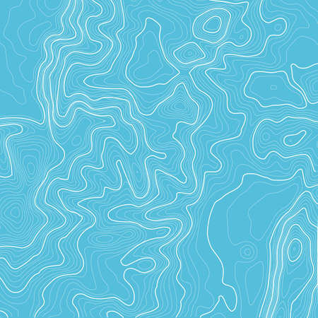 elevate: Topographic map background with space for copy . Line topography map contour background , geographic grid abstract vector illustration . Mountain hiking trail over terrain