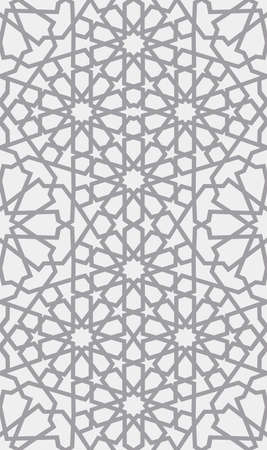 Modèle islamique. Transparente motif géométrique arabe, ornement est, ornement indien, motif persan, 3D. Une texture sans fin peut être utilisée pour le papier peint, les motifs de remplissage, le fond de page Web.