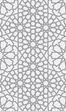 Patrón islamico Sin fisuras patrón geométrico árabe, ornamento oriental, ornamento indio, motivo persa, 3D. La textura infinita se puede utilizar para fondos de pantalla, rellenos de patrones, fondo de páginas web.